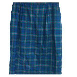 Vintage Pendleton plaid skirt 14